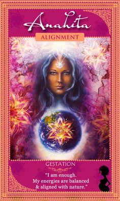 Affirm it! I am enough | Fertility Goddess Affirmation Cards | New Affirmations Card Deck by Abiola Abrams
