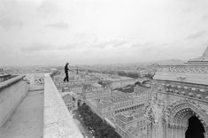 philippe petit, Notre Dame Cathedral – June 26, 1971