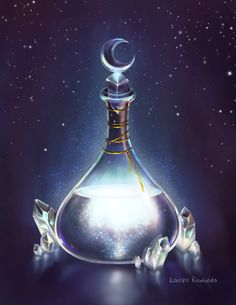 I'm took a little break from drawing witches to draw a witches potion! Anime Weapons, Fantasy Weapons, Fantasy World, Fantasy Art, Espada Anime, Desenhos Tim Burton, Site Art, Bottle Drawing, Witch Potion