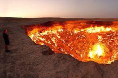 .pekelná diera, ktorá horí už 40 rokov