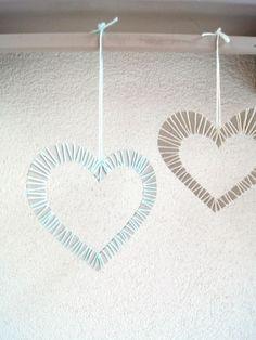 Wunderbar Herzen Mit Garn Umwickeln   Kinder Basteln Ein Schönes Geschenk Für  Valentinstag. | Von Fantasiewerk