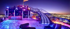 VooDoo Rooftop Nightclub at the Rio hotel has a spectacular view of Las #Vegas #love