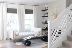 fretwork railing + daybed