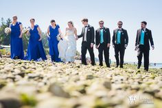 Lazzat Photography   North West Seattle-Tacoma Beach Wedding   Baby Blue Seashells Corrals   Wedding Bridal Party Summer Outdoor Session  Mukilteo Lighthouse walking candid