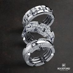 Unlock the Luxury with Mens Rockford Ring Collection SHOP at www.rockfordcollection.com  Worldwide Shipping