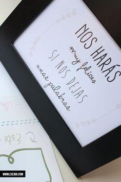 Marco para libro de firmas - La Tienda de Eje360