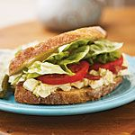 Healthy sandwiches - replace regular bread with Paleo Bread