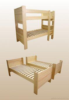 Emeletes ágy - két ágyra bontható (gysz141621) Outdoor Structures