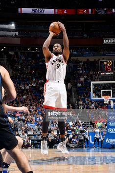 c58bb2285 News Photo   Serge Ibaka of the Toronto Raptors shoots the... Serge Ibaka