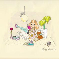 FOXY illustrations