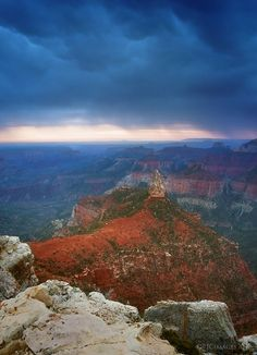 """Imperial Storm"" - Point Imperial- Grand Canyon National Park, Arizona"