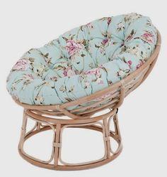 Papasan cushion in duck egg blue Papasan Cushion, Papasan Chair, Chair Bed, Diy Chair, Black Dining Room Chairs, Living Room Chairs, Chaise Diy, Leather Recliner Chair, Chair Types