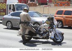 las vegas police Motorcycles | LAS VEGAS, NEVADA - MAY 9, 2014: Las Vegas Police Department officer ...