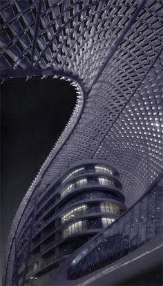 architecture architecture architecture  Yas Hotel, Abu Dhabi