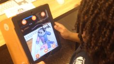 Augmented Reality and creative writing with Chromville app