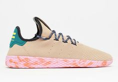 7ae227d33 Pharrell x adidas Tennis Hu Tan Latest Adidas Shoes
