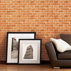 Rustic brick wallpaper wall EDEM decorative vintage mural stone brix look vinyl sand-beige - VERSAILLES Wallpaper Direct, Brick Wallpaper, Wallpaper Online, Vinyl Wallpaper, Stunning Wallpapers, High Quality Wallpapers, Basic Colors, Wall Design, Vintage