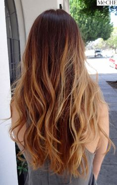 ombre after