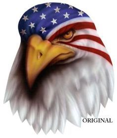 This item is unavailable War Paint Eagle Cross Stitch Pattern. Patriotic Pictures, Eagle Pictures, Tattoo Guerreiro, Desenho New School, Eagle Drawing, Flag Drawing, Eagle Painting, American Flag Eagle, Eagle Tattoos