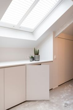 Blue Kitchen In Scandinavian Style Decor Inspiration and Loft Conversion Bedroom, Attic Apartment, Apartment, House Inspiration, Home Bedroom, House, Loft Room, Attic Rooms, Home Deco