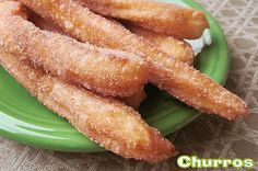 homemade churros!