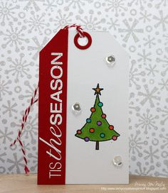 We made it through 25 consecutive days of Christmas Tags! This is the first year that I have been able to post a new tag every day wi. 25 Days Of Christmas, Christmas Tree Cards, Christmas Gift Tags, Holiday Cards, Christmas Cards, Christmas Ideas, Merry Christmas, Snowman Cards, Christmas Paper Crafts