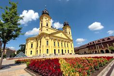 PHOTO: Calvinist Great Church in Debrecen, Hungary, where Lajos Kossuth declared Hungarian Independence in 1848 Tattoo Photography, Travel Photography, Travel Articles, Travel Photos, Great Plains, Travelogue, Hungary, Budapest, Croatia
