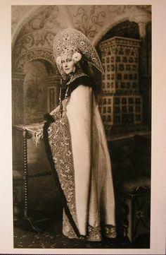 Grand Duchess Elizavetta Feodorovna 1903 Winter Costume Ball