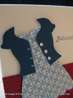 Stamp & Scrap with Frenchie: Jacket with All Dress Up
