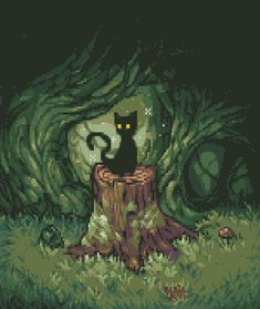 Guardian of the Woods by Reo #pixelart
