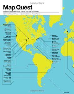 Super Graphic: A Visual Guide to the Comic Book Universe: Tim Leong