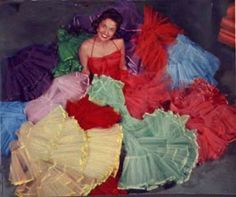 Alice Lon tells us how to sew a 48 yard, 12 ounce petticoat with nine yards of nylon net. The article was first published in the September 1-7 1956 issue of TV Guide.