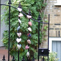 Something different for the tree this year? Tawny Blue makes these beautiful and unique strands of heart bunting.