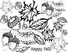 4 free printable fall coloring pages preschool pinterest