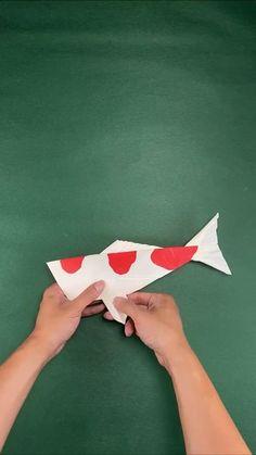 Paper Folding Crafts, Cool Paper Crafts, Paper Mache Crafts, Cute Crafts, Instruções Origami, Paper Crafts Origami, Oragami, Diy Crafts Hacks, Diy And Crafts