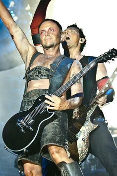 Rammstein, Paul Landers and Richard Kruspe