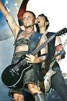 Rammstein, Paul Landers and Richard Kruspe