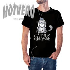 3965c310e Cheap Catbus Dumbledore Funny Movie T Shirt