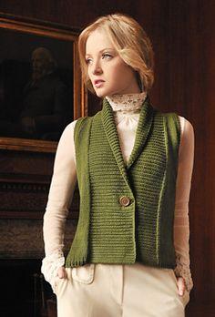 Elegant shawl neckline
