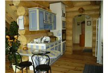 Log Homes Kitchen Log Home Kitchens, Log Homes, Timber Homes, Log Houses, Log Cabin Homes, Wood Houses, Wood Homes, Craftsman Bungalows