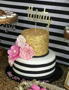Love this cake cake Kate Spade theme
