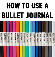 Learn all about the bullet journal - what it is, how to set it up, what supplies…