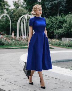 Royal Blue Tea Length Homecoming Dress – Simplepromdress - - Royal Blue Tea Length Homecoming Dress – Simplepromdress Source by Elegant Dresses, Beautiful Dresses, Formal Dresses, Wedding Dresses, Simple Dresses, Pretty Dresses, Bridesmaid Gowns, Tea Length Dresses, Casual Dresses
