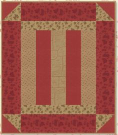 Plymouth Quilt Pattern by Minick and Simpson