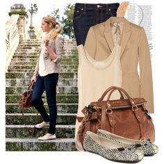 A fashion look from July 2011 featuring MICHAEL Michael Kors tops, Miu Miu blazers e Nudie Jeans Co. jeans. Browse and shop related looks.