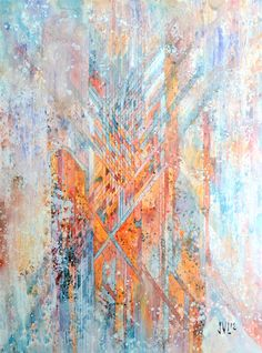 Active portfolio of Chicago-based visual artist and designer Jacob van Loon Abstract Art Images, Painting Abstract, Blue And Copper, Pastel, Art And Illustration, Illustrations, Western Art, Contemporary Paintings, Contemporary Design