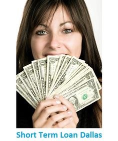 #ShortTermLoanDallas arranges quick funds to individuals in their difficult financial conditions. Borrowers under this monetary scheme can able to take advantage of $100 to $1000 for the time duration of 14-31 days. www.shorttermloandallas.com