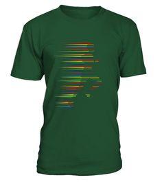 Running T-Shirt Jogging Gym Marathon Abstract Cool Art Tee