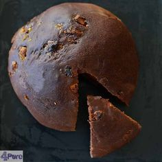 Chocolate bread with white chocolate