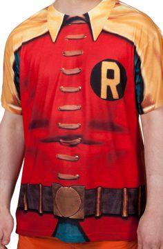 60s Robin Costume Shirt